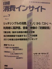 日経消費インサイト2013.7